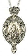 Панагия ювелирная - А671 (серебрение)
