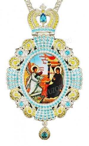 Панагия ювелирная - А528 серебрение)