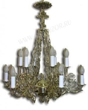 Одноярусное церковное паникадило -14