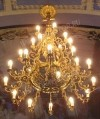Трехъярусное церковное паникадило -3 (84 свечей)