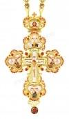 Крест наперсный - A127LP (с цепью)