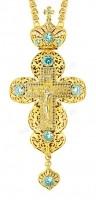Крест наперсный - A133 (с цепью A1)