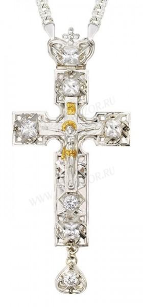 Крест наперсный - А142L (с цепью)