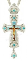 Крест наперсный - А159L (с цепью)
