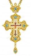 Крест наперсный - А163 (с цепью)