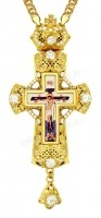 Крест наперсный - А178LP (с цепью)
