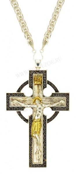 Крест наперсный - А182 (с цепью)