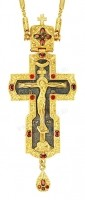 Крест наперсный - А186 (с цепью)