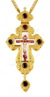 Крест наперсный - А214 (с цепью)