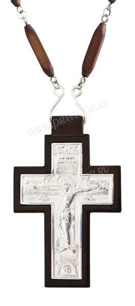 Крест наперсный - А230 (с цепью)