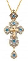 Крест иерейский с украшениями №12a