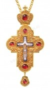 Крест иерейский с украшениями №18