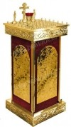 Столик панихидный (канун) №601k (50 свечей)