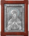 Икона Пресв. Богородицы Всецарица Семистрельная - А87-2