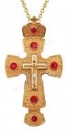 Крест наперсный с украшениями №010
