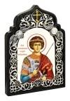 Икона настольная  - святой великомученик Георгий Победоносец Чудотворец.