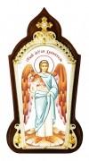 Икона настольная  в серебре - Ангел Хранитель