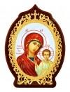 """Икона настольная  - Богородица """"Казанская""""."""