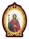 Икона настольная  - святой великомученик Иоанн Сочавский Новый.