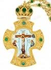 Крест наперсный с цепью.№0101
