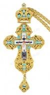 Крест наперсный с цепью №0164
