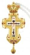 Крест наперсный с украшениями №0295