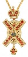 Крест наперсный с цепью №0308