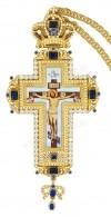 Крест наперсный с цепью.№0309