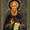 Икона: Св. Александр Свирский чудотворец