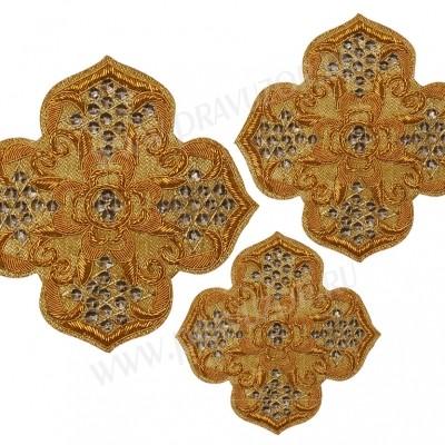 Кресты ручной вышивки №Д124