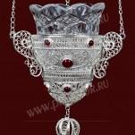 Филигранная подвесная лампада №7-8