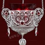 Филигранная подвесная лампада №15-16