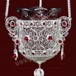 Филигранная подвесная лампада №17-18