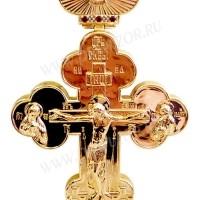 Крест наперсный с украшениями №48