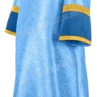 Стихарь алтарника из парчи ПГ2 (синий/золото)