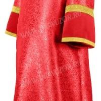 Стихарь детский из парчи ПГ2 (красный/золото)