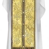 Требный комплект из парчи ПГ3 (чёрный/золото)