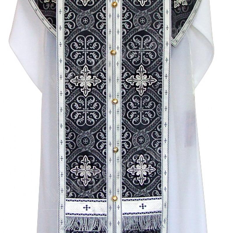 Требный комплект из шёлка Ш4 (чёрный/серебро)
