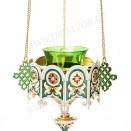 Лампада подвесная ювелирная №25a
