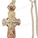 Крест наперсный ювелирный №136