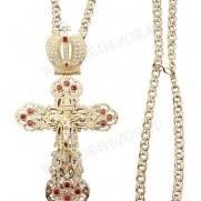 Крест наперсный ювелирный №6