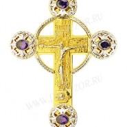 Крест наперсный - A124-1 (с цепью)