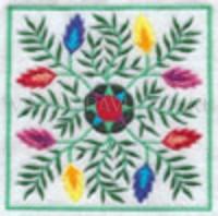 Цветочный узор-1