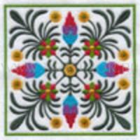 Цветочный узор-3