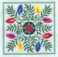 Цветочный узор-2