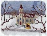 Церковь - зима