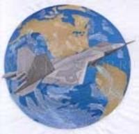Самолет и земной шар