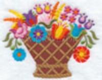 Цветочная корзина-1