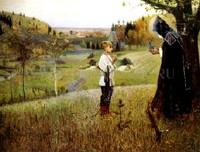 """Картина Нестеров М. """"Видение отроку Варфоломею"""""""