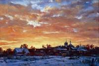 """Картина Нестеренко В.И. """"Студеный закат"""""""